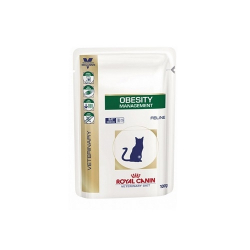 Royal Canin Veterinary Diets-Feline Obesity Management Húmedo 100gr. (1)