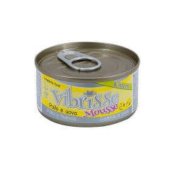 Vibrisse Kitten Mousse Pollo y Huevo (6)
