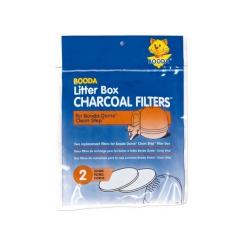 Pack de 2 Filtros Redodndos para Gateras higiénicas (6)