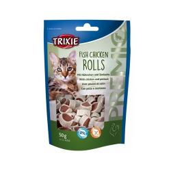 Snacks Tiernos Pollo y Merluza para Gato (1)
