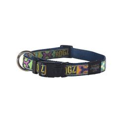 Collar Nylon con Tela Estampada Pop Art para Perro (6)