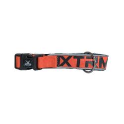 Collar X-TRM Nylon para Perro Color Naranja Neón (6)