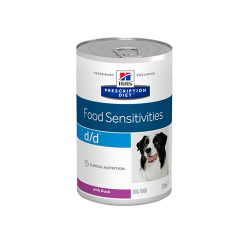 Hills Prescription Diet-PD Canine d/d con Pato. 370 gr. Húmedo. (1)