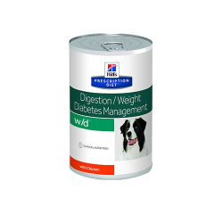 Hills Prescription Diet-PD Canine w/d 370 gr. Húmedo. (1)