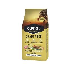 Ownat Grain Free Prime-Junior Pollo y Pavo para perro (1)