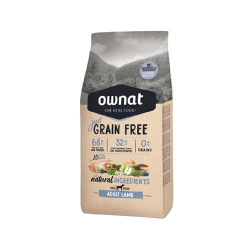 Ownat Just Grain Free-Adulto de Cordero para perro (1)