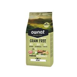 Ownat Grain Free Prime-Adulto Pollo y Pavo para gato (1)