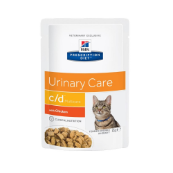 Hills Prescription Diet-PD Feline c/d. Sobre 85 gr. (1)