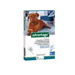 Advantage Pipetas Antipulgas Perros de +25 Kg (6)