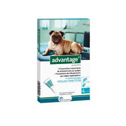 Advantage Pipetas Antipulgas Perros de 4-10 Kg (6)