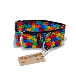 Collar Martingale Puzzle para Perro