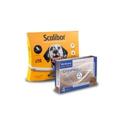 Pack Antiparasitos Anual BASIC EFFIPRO para Perros Giant (1)
