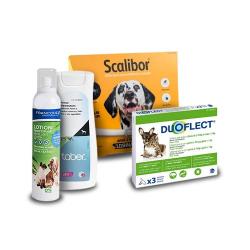 Pack Antiparasitario Anual ESPECIAL CAMPO DUOFLECT para Perros (1)