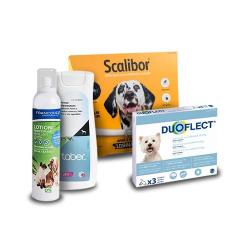 Pack Antiparasitário Anual ESPECIAL CAMPO DUOFLECT para Perros (1)