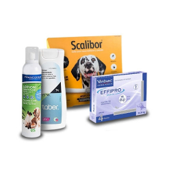 Pack Antiparasitos Anual ESPECIAL CAMPO EFFIPRO para Perros (1)