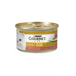 Gourmet Gold-Mousse Pato y Espinacas (1)