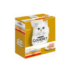 Gourmet Gold-Pack Mousse Surtido Variado para Gato (1)