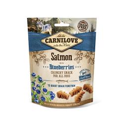 Snack Crunchy Salmón con Arándanos