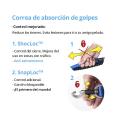 Rogz-Correa Control Color Rosa para Perro (2)