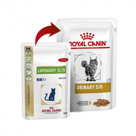 Royal Canin Veterinary Diets-Feline Urinary S/O Húmedo 100 gr. (1)