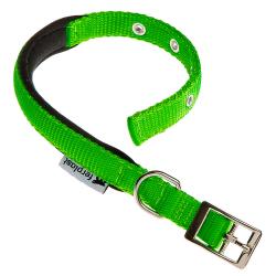 Collar Nylon Daytona C Green para perros Ferplast