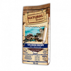 Natural greatness canine sensitive sin cereales salmon para perros 12kg