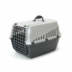 Transportin Trotter para Perro y/o Gato Color Antracita (1)