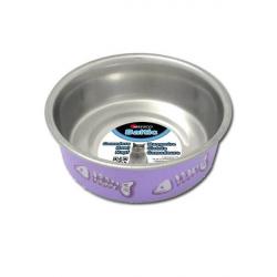 Comedero Inox. Antideslizante 300ml, 12cm (1)