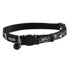 Collar Nylon Negro para Gato (1)