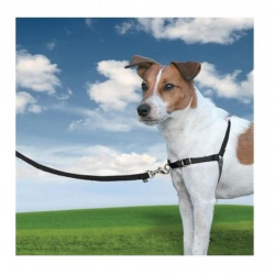Arnes Easy Walk Nylon Negro para Perro (1)