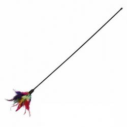 Vara con Plumero Multicolor para Gato (2)