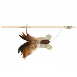 Vara de Juego con Mariposa y Plumas para Gato (1)