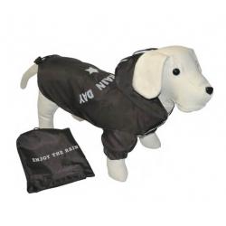 Chubasquero Enjoy Rain Negro para Perro (1)