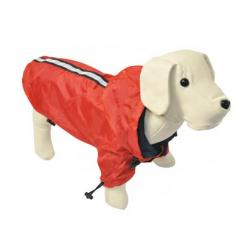 Chubasquero Reflectante Rojo para Perro (1)