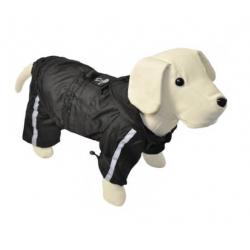 Chubasquero Reflectante con Patas color Negro para Perro (1)