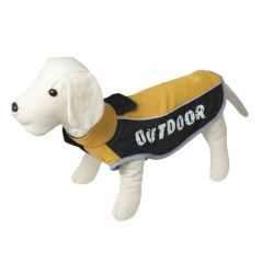 Chaqueta Mod.Outdoor Color Mostaza para Perro