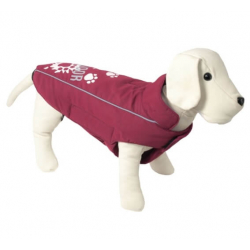 Chaqueta Mod.Outdoor Splash Burdeos para Perro
