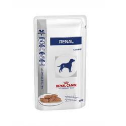 Royal Canin Veterinary Diets-Renal Húmedo Finas Láminas en Gelatina 150 gr (1)