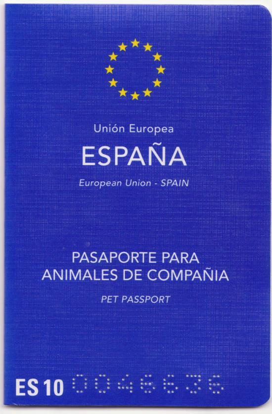 Pasaporte europeo para animales de compañía