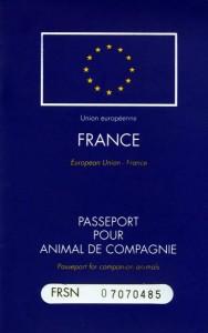 Passeport pour animal de compagnie