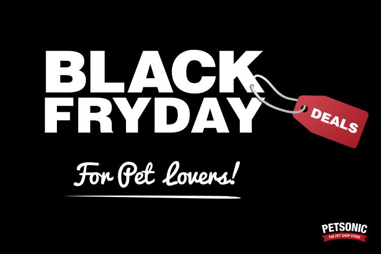black friday pour chiens et chats chez petsonic blog petsonic. Black Bedroom Furniture Sets. Home Design Ideas