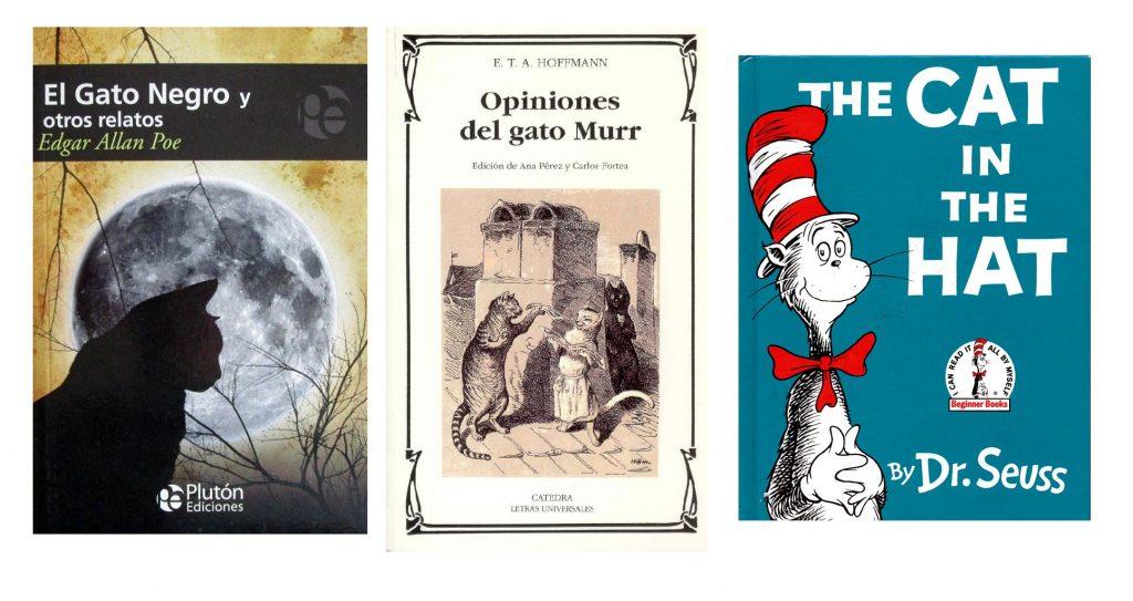 libros gato