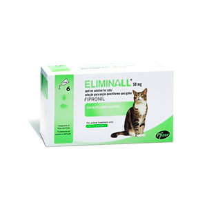 Pipetas Eliminall para Gatos